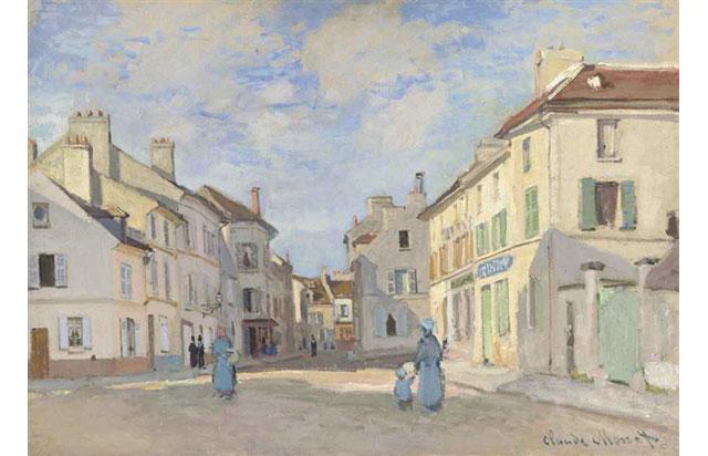 Monet'nin 1872 tarihli 'L'Ancienne rue de la Chaussée, Argenteuil' tablosunun Christie's müzayedesinde teklif almaması, Brexit'in sonucu olarak yorumlandı.