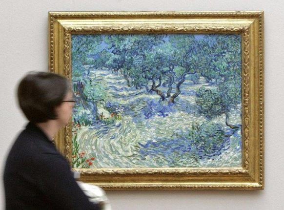 Van Gogh tablosuna yapımış 128 yıllık çekirge bulundu