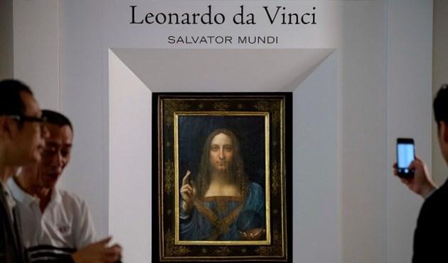 """Kayıp Leonardo"" Salvador Mundi 450 milyon dolara satıldı"