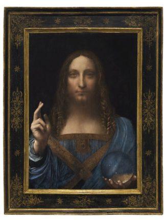 Kayıp Leonardo Salvador Mundi 450 milyon dolara satıldı