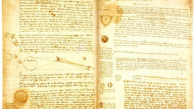 Bill Gates Da Vinci'nin el yazmalarını İtalya'da sergileyecek