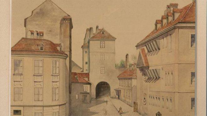 Eskici pazarından alınan resim orijinal Hitler eseri çıktı