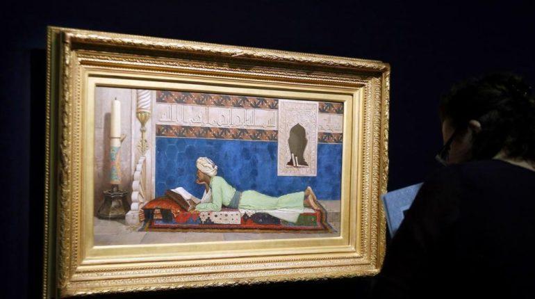 Osman Hamdi Bey'in ünlü tablosu Abu Dabi Louvre'da