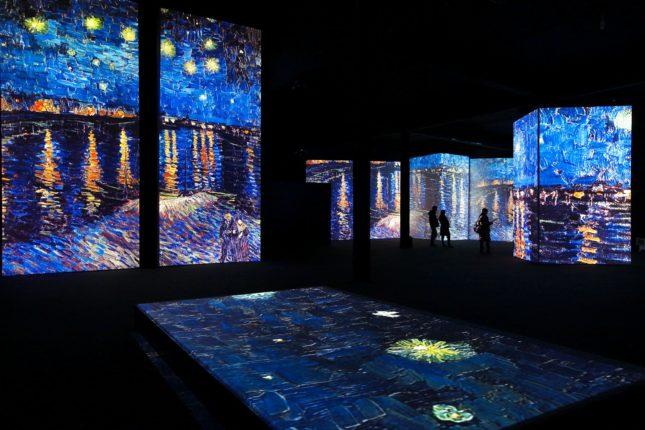 Vincent Van Gogh Alive dijital sanat sergisi Atina'da