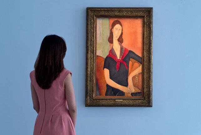 İtaya'daki Modigliani sergisinde yer alan tablolar sahte çıktı