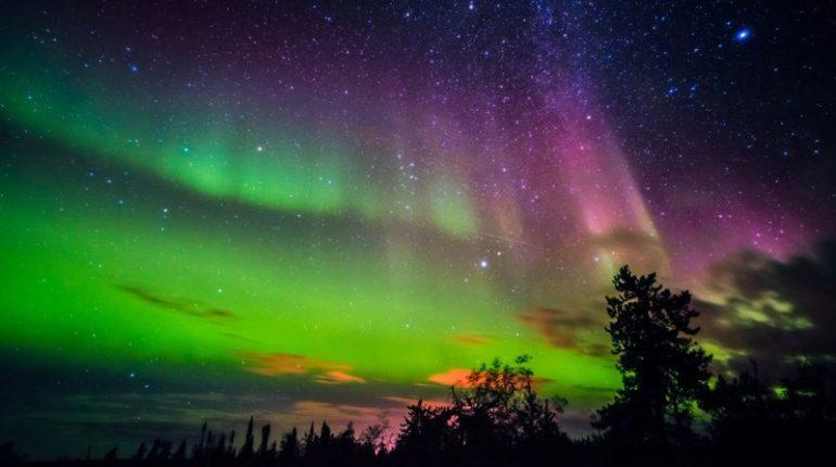 Bir doğa şöleni: Büyülü kuzey ışıkları