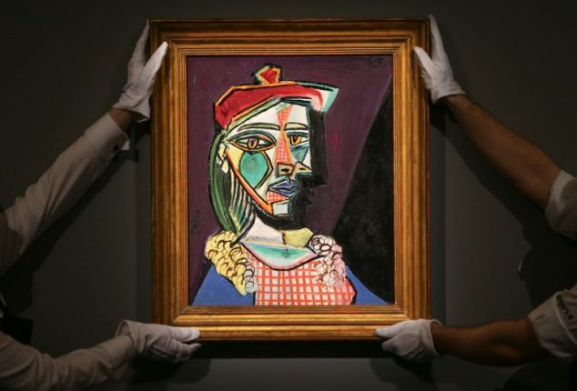 """Picasso'nun en değerli portresi """"Altın Meşe"""" tablosuna rekor fiyat"""