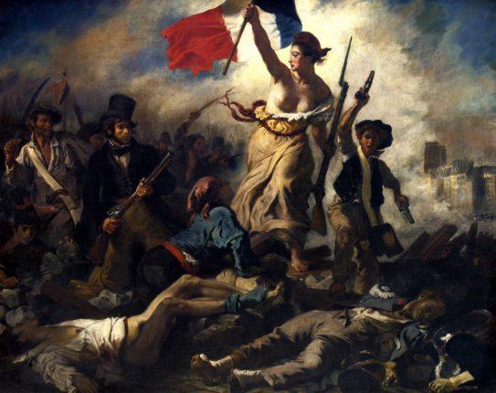 Paris'in ünlü Louvre Müzesi'nde Eugene Delacroix sergisi