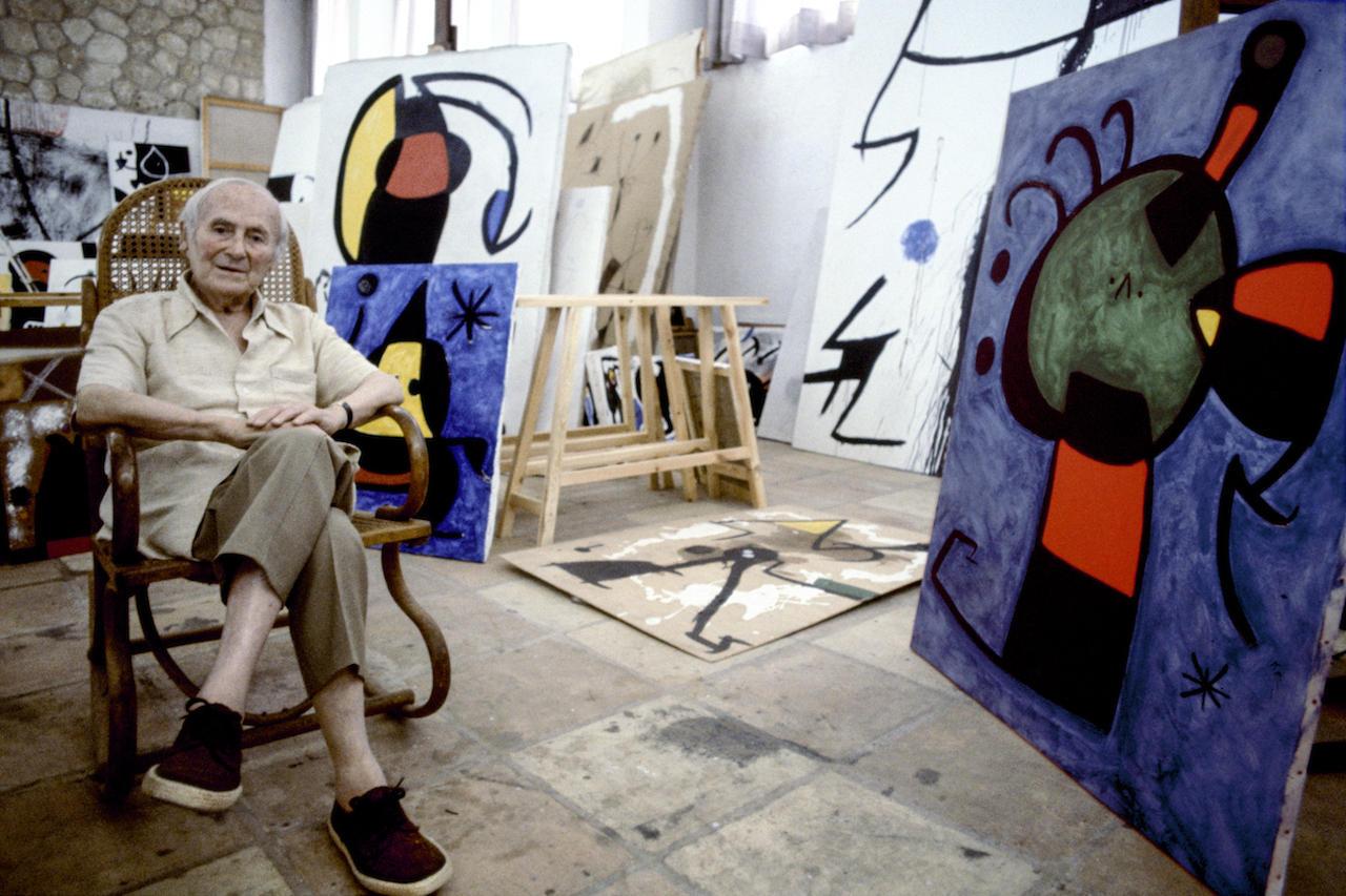 Katalan ressam Joan Miro'nun eserleri yeniden İstanbul'da