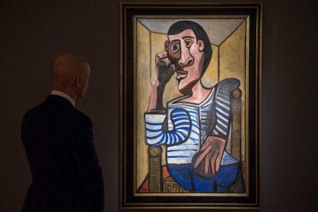 Picasso'nun 'Denizci' tablosu rekor fiyata satışa çıkarılacak