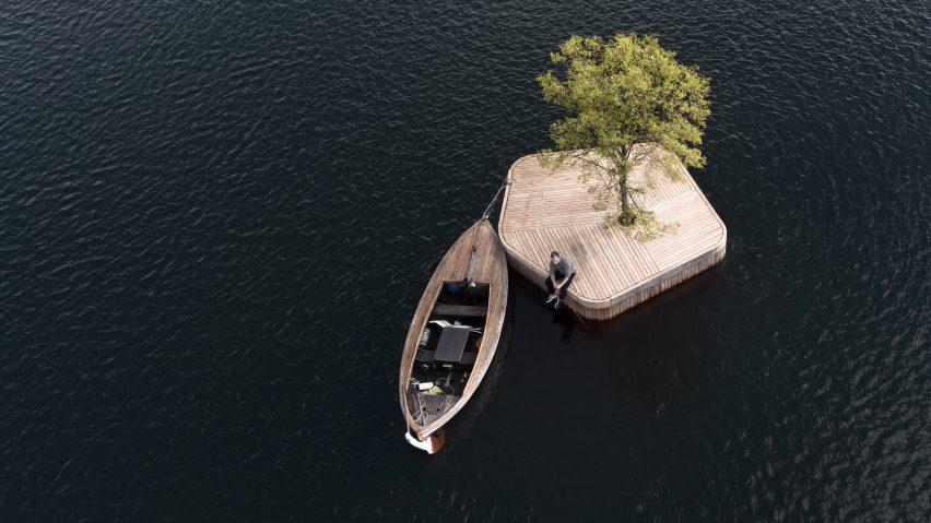 Kopenhag'da şehirden kaçmak için adalar inşa ediliyor
