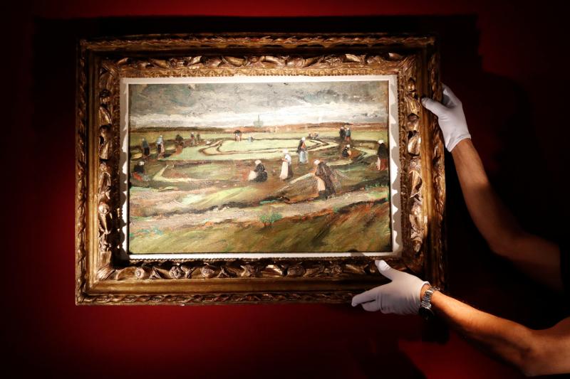 Van Gogh'un tablosu Fransa'da ilk kez satılacak