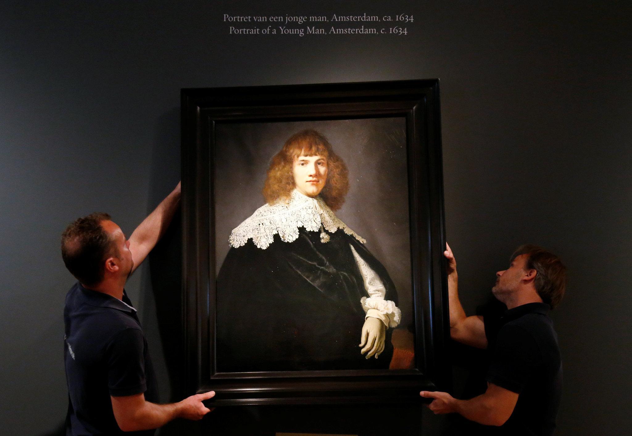 Rembrandt'ın tablosu 44 yıl sonra ortaya çıkarıldı