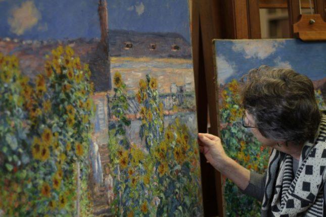 Claude Monet'in ikiz tabloları ilk kez sergileniyor