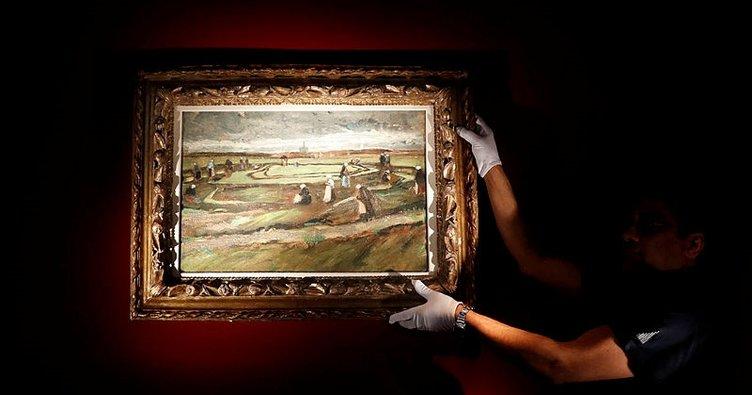 Van Gogh'u tek manzara resmi rekor fiyata satıldı
