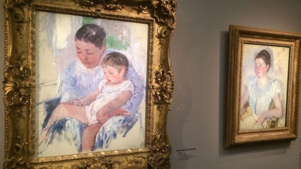 Empresyonist ressam Maryy Cassatt'in eserleri Paris'te sergileniyor