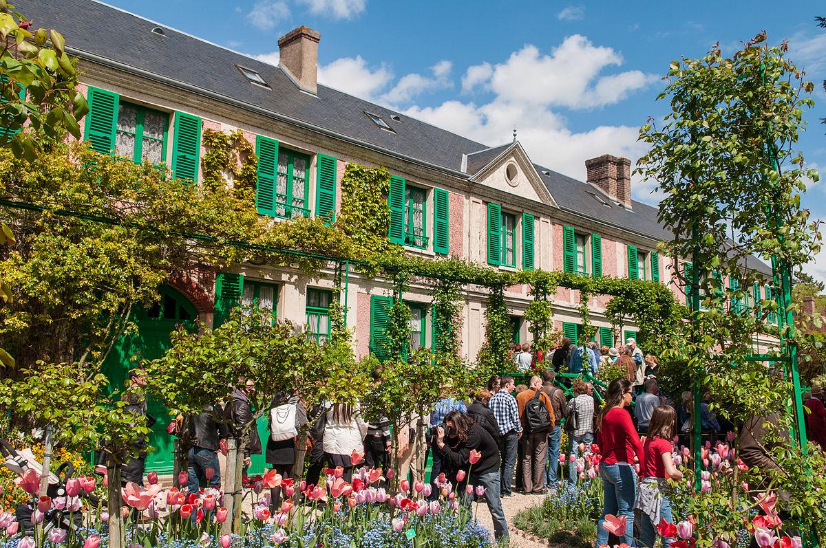 Claude Monet'nin rüya bahçesine ziyaretçi akını