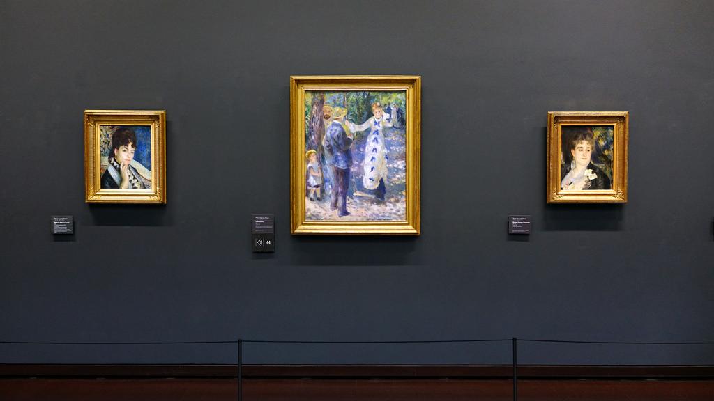 Empresyonist Ressam Renoir eserleriyle İstanbul'da