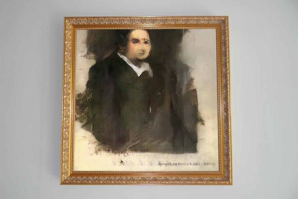 Yapay zeka ile yapılan sanat eseri müzayedede satıldı
