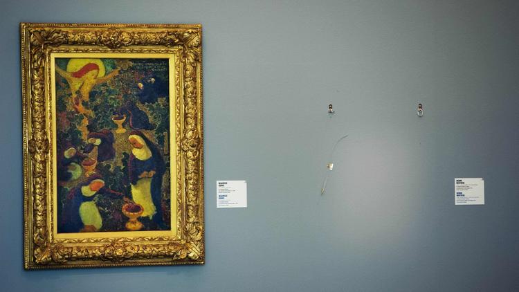Picasso'nun çalıntı tablosu gömülü halde bulundu
