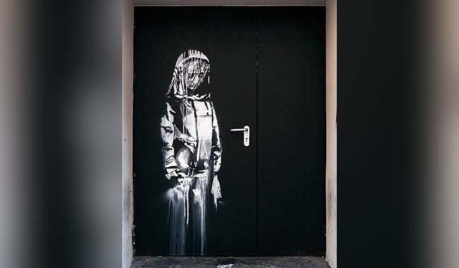 Banksy'nin Paris'teki eseri çalındı