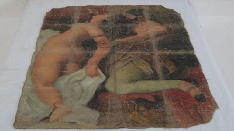 """Diyarbakır'da Picasso'nun """"Çıplak katil"""" tablosu ele geçirildi"""