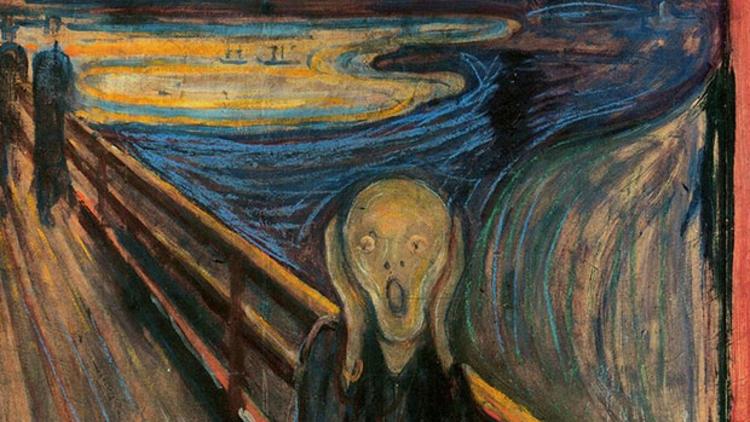 Munch'ün 'Çığlık' Tablosu Toplumsal Mesaj Vermeye Çalışıyor