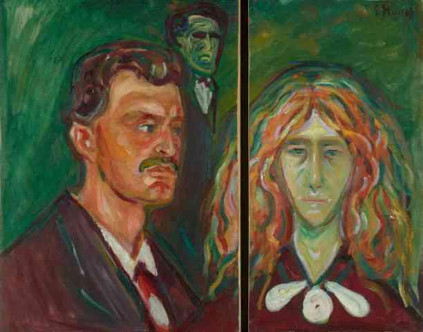 Edvard Munch nişanlısıyla British Museum'da bir araya geldi