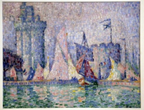 Fransa'daki müzeden çalınan Paul Signac'ın tablosu bulundu