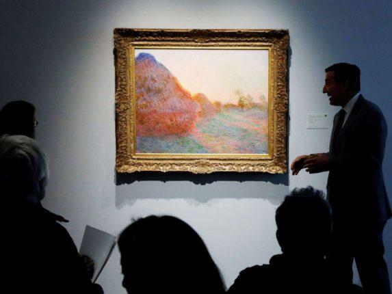 Claude Monet'nin Les Meules tablosu rekor kırdı